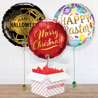 Seasonal Balloon In A Box