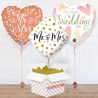 Wedding Balloon In A Box