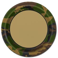 Army Camouflage Theme Party Supplies