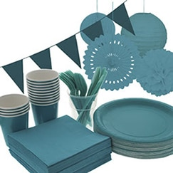 Caribbean Teal Party Supplies