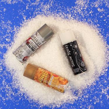 Artificial Snow & Snow Sprays