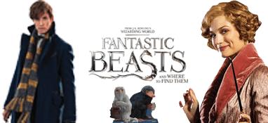 Fantastic Beasts Lifesize Cardboard Cutouts
