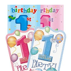 First Birthday Invitations and Thank You Cards