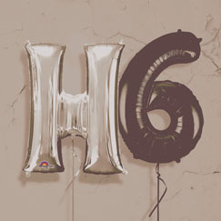 Letters, Numbers and Phrase Balloons