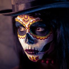 Halloween Makeup & Fake Blood