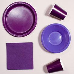 Plain Colour Party Supplies