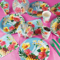 Hawaii Paradise Party Supplies
