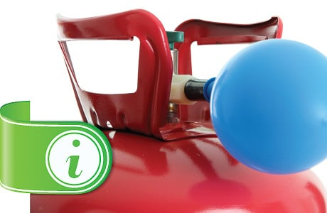 Helium Gas Instructions and Care