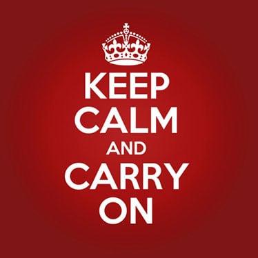 Keep Calm Party Supplies
