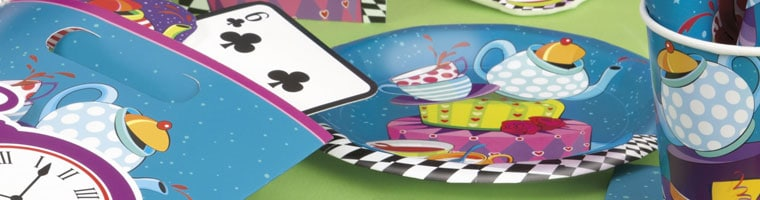 Mad Hatter Tea Party Supplies Top Image