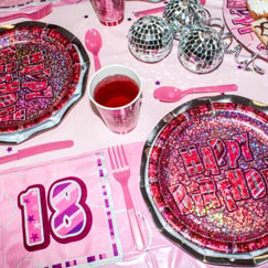 Pink Glitz 18th Birthday