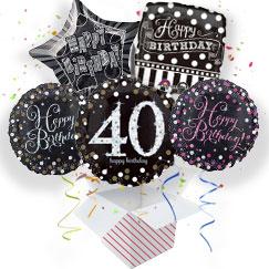 40th Birthday Balloon In A Box