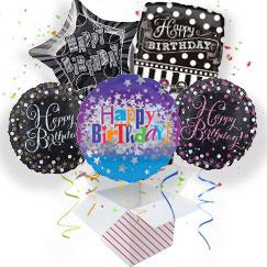 75th Birthday Balloon In A Box