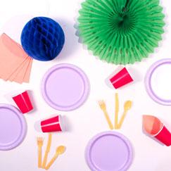 Multi Colour Party Supplies