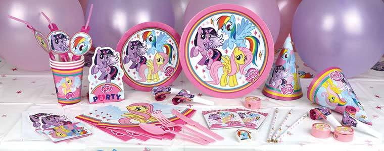 My Little Pony Party Supplies Top Image