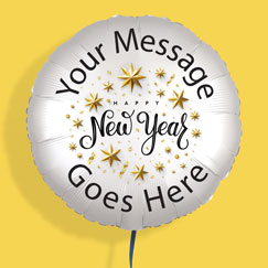 New Year Personalised Balloons