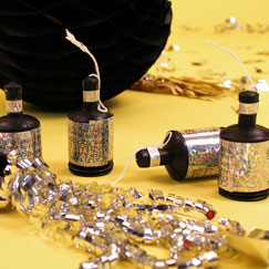 New Years Party Poppers