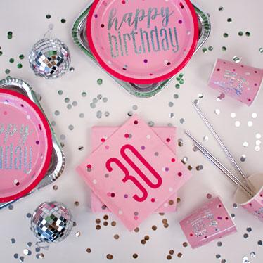 Pink Glitz 30th Birthday