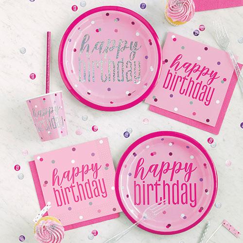 Any Age Pink Glitz