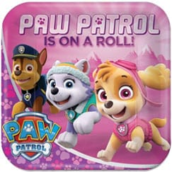 Paw Patrol Pink Party Supplies