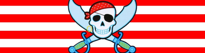 Pirate Party Supplies Top Image