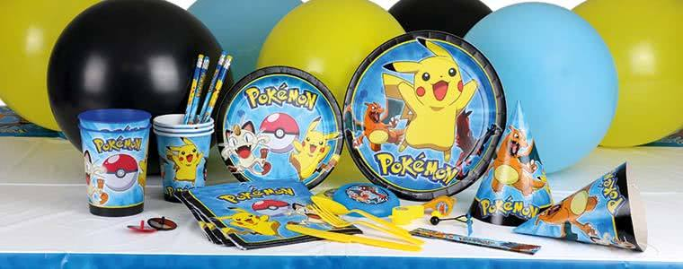 Pokemon Party Supplies Top Image
