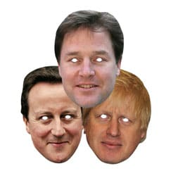 Politicians Face Masks