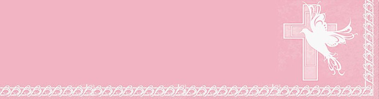 Radiant Cross Pink Party Supplies Top Image