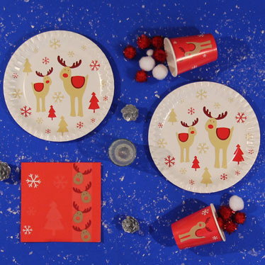 Christmas Rocking Rudolph Party Supplies