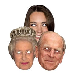 Royal Family Face Masks