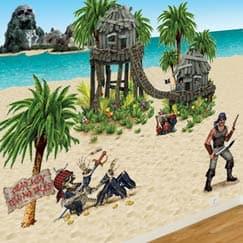 Pirate Scene Setters