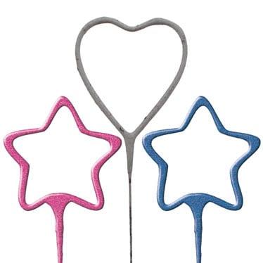 Shape Sparklers
