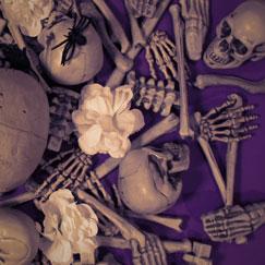 Skeleton & Tombstones Halloween Decorations