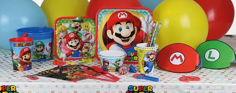 Nintendo Super Mario Party Supplies Top Image