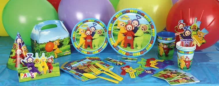 Teletubbies Party Supplies Top Image