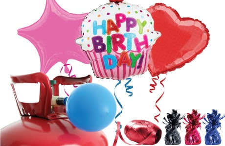 Themed & Occasions Helium Packages with Balloons