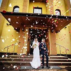 Wedding Confetti & Cannons