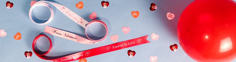 Personalised Valentines Day Party Supplies
