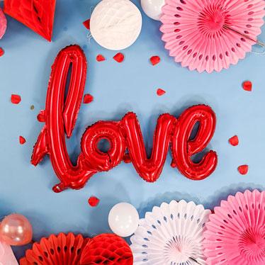 Valentines Day Phrase Balloons