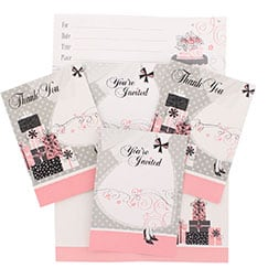 Wedding Invitations & Thank You Cards