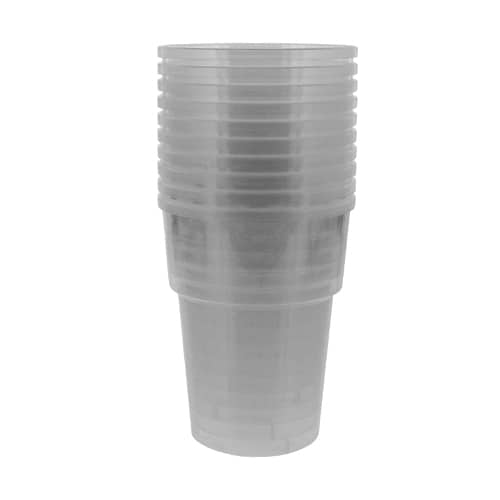 Plastic Half Pint Glasses - 10oz / 284ml - Pack of 10