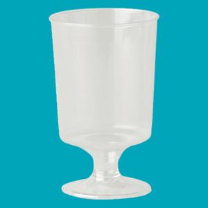Stemmed Tasting Plastic Liquor Glasses – 47ml – Pack of 100 Product Image