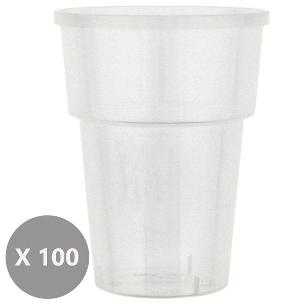 Plastic Juice Tumblers - 8oz / 237ml - Pack of 100