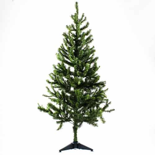 PVC Christmas Tree with Plastic Base 120cm Product Image