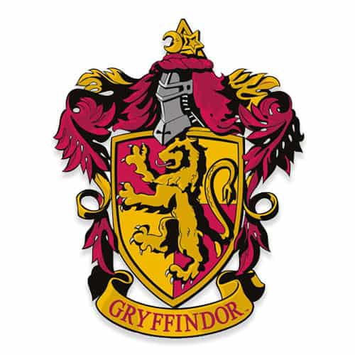 Harry Potter Wizarding World Gryffindor Emblem Wall Art Cutout 61cm Product Gallery Image
