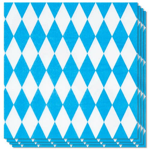 Oktoberfest Luncheon Napkins 33cm 2Ply - Pack of 12 Product Gallery Image