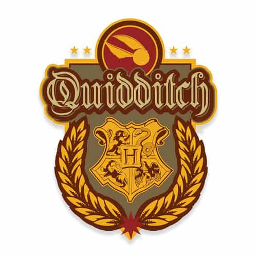 Harry Potter Wizarding World Quidditch Crest Wall Art Cutout 61cm Product Gallery Image