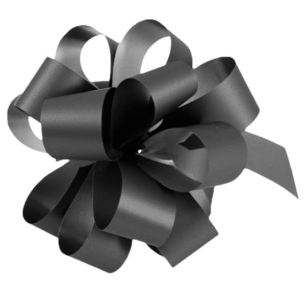 Black Pull Bows - Pack of 20 Product Image