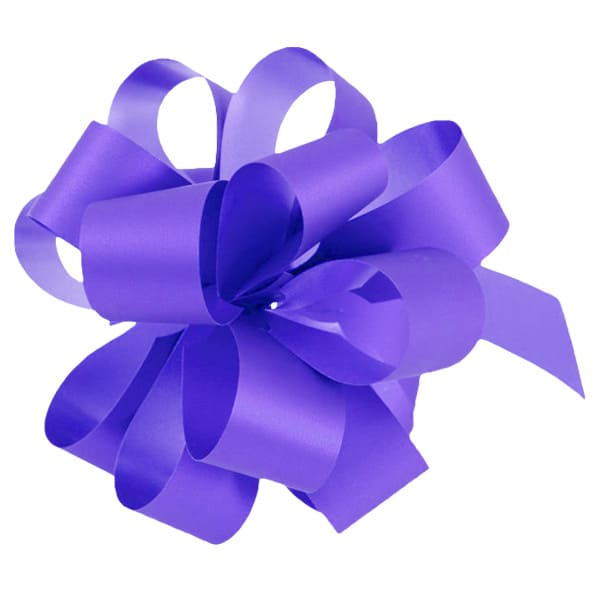 Lavender Pull Bows - Pack of 20