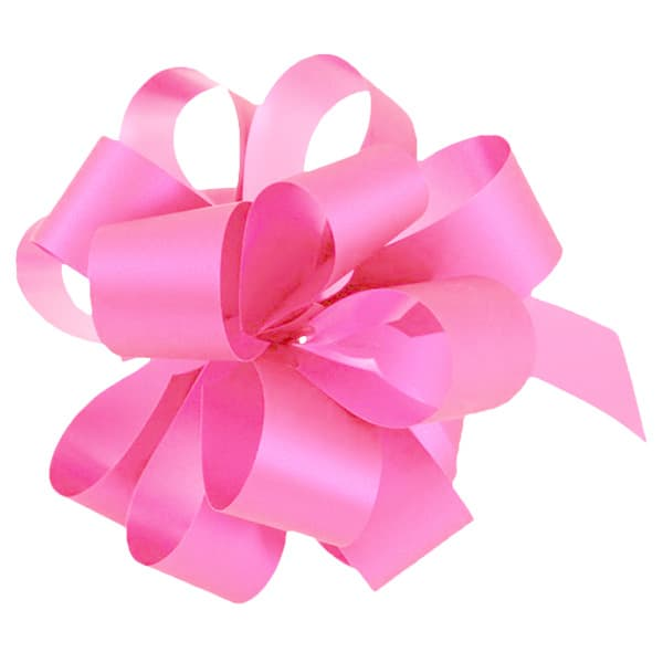 Pink Pull Bows - Pack of 20